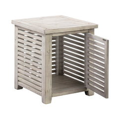 Hudson Slated End Table by Crestview Collection