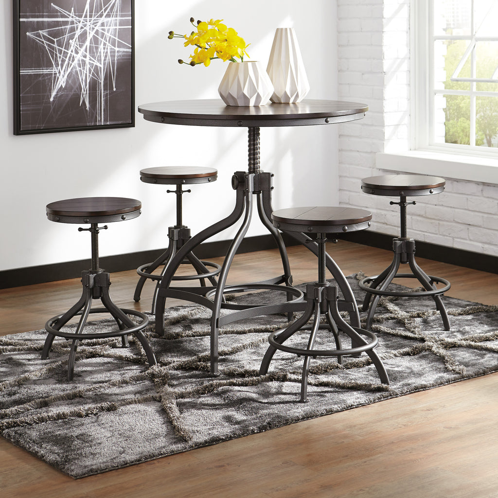 Odium Counter Height Dining Set by Signature Design by Ashley