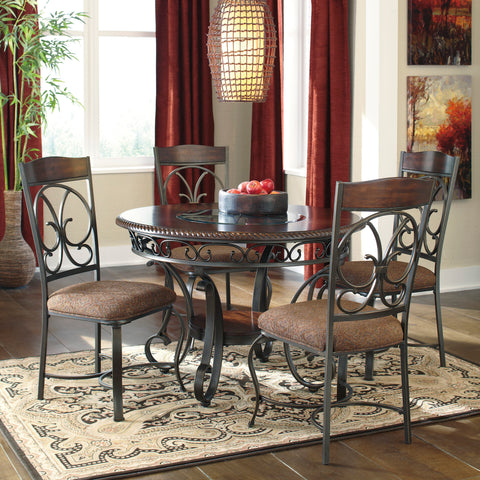 Glambrey Dining Table and Chairs by Signature Design by Ashley