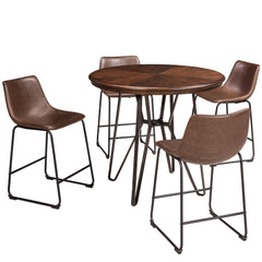 Centiar 5-Piece Counter Height Dinette by Signature Design by Ashley