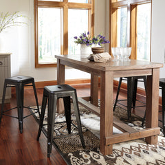 Pinnadel Counter Height Table and Stools by Signature Design by Ashley