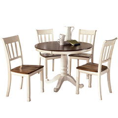 Whitesburg Round Dining Table and Chairs by Signature Design by Ashley