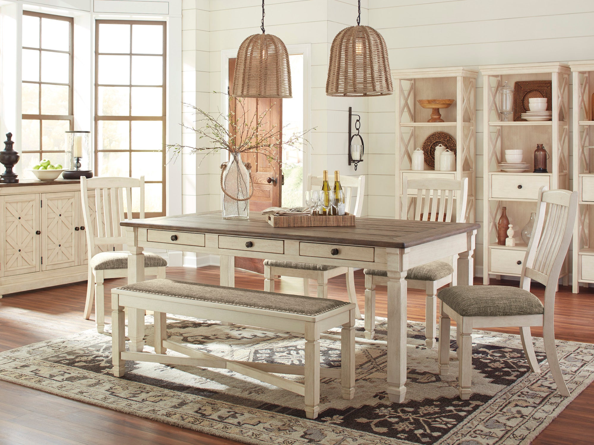 Bolanburg 6 Piece Dining Collection By Signature Design By