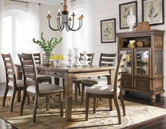 Flynnter 7-Piece Dining Room by Signature Design by Ashley
