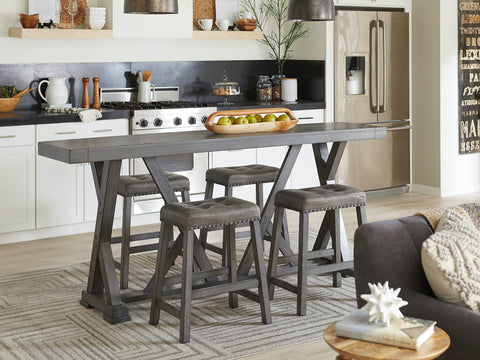 Fiji 7-Piece Counter-Height Dinette by Progressive Furniture
