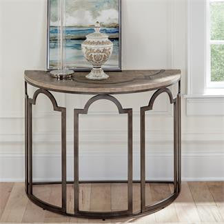 Estelle Demilune Sofa Table by Riverside Furniture