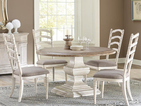 Elizabeth 6-Piece Round Dining Table and Chairs by Riverside Furniture