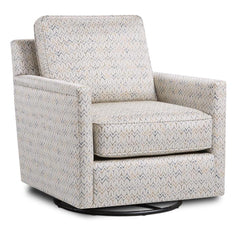 Theta Citron Swivel Glider by Fusion Furniture Inc