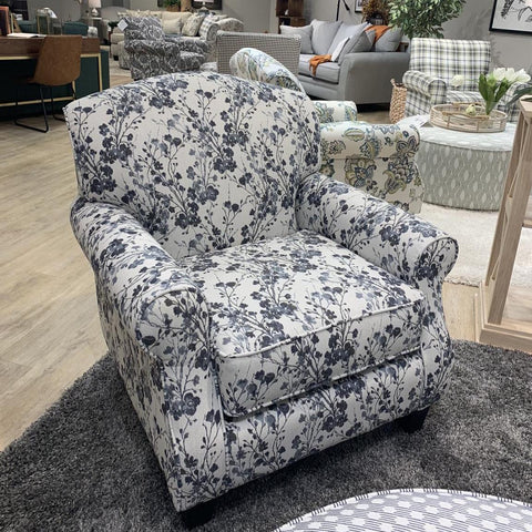 Freesia Denim Accent Chair by Fusion Furniture Inc