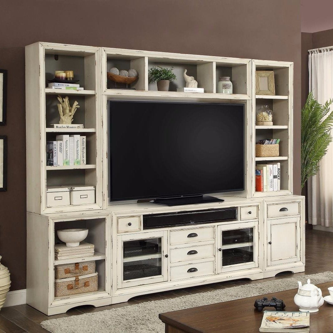 Amazing Nantucket 6 Piece Entertainment Wall By Parker House