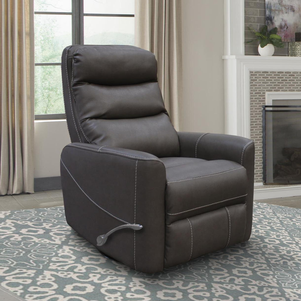 Hercules Swivel Glider Recliner with Articulating Headrest by Parker House