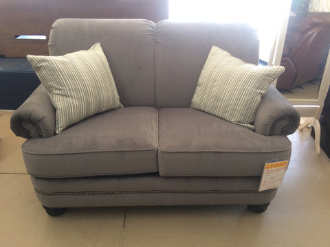 Flexsteel Grey Loveseat