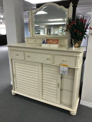 2 Piece Lady's Dresser/Mirror Group
