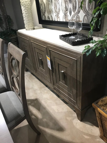 Buffet with Stone Top