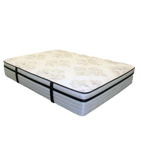 Nature's Cloud Plush Twin Mattress And Foundation