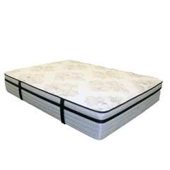 Nature's Cloud Plush Twin Mattress by Heritage