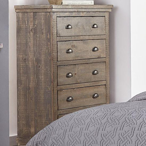 Willow Weathered Gray Chest by Progressive