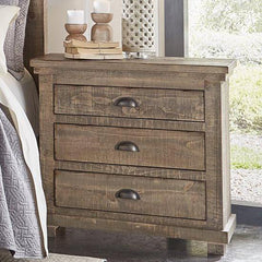 Willow Weathered Gray Nightstand by Progressive