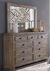 Willow Drawer Dresser and Mirror by Progressive Furniture