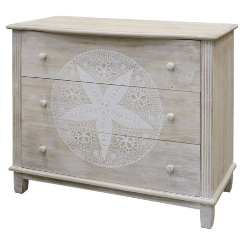 Sand Dollar 3-Drawer Cabinet by StyleCraft