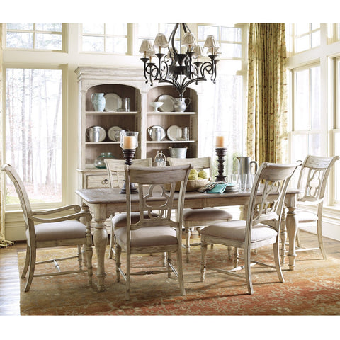 Weatherford 7-Piece Canterbury Table and Chairs by Kincaid