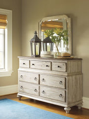 Weatherford Ellesmere Dresser and Westland Mirror by Kincaid