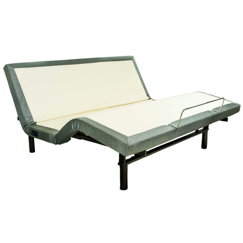 King Adjustable Bed, with Light and Massage by W. Silver Products