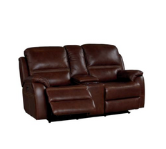 Williams Power Motion Headrest Reclining Loveseat by Bassett