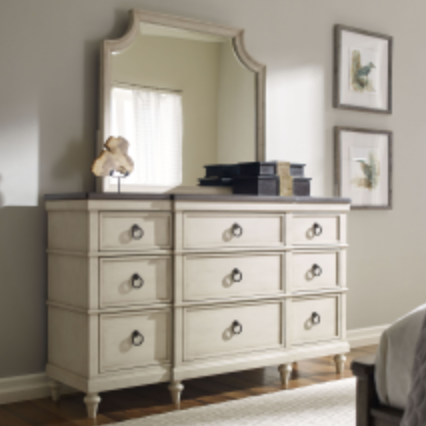 Brookhaven Dresser and Mirror by Legacy Classic