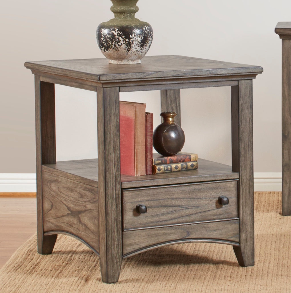 Kensworth Rectangular End Table by Largo