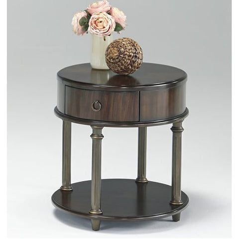 Regent Court Round Chairside Table by Progressive