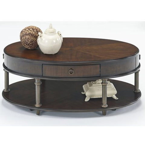 Regent Court Oval Cocktail Table by Progressive