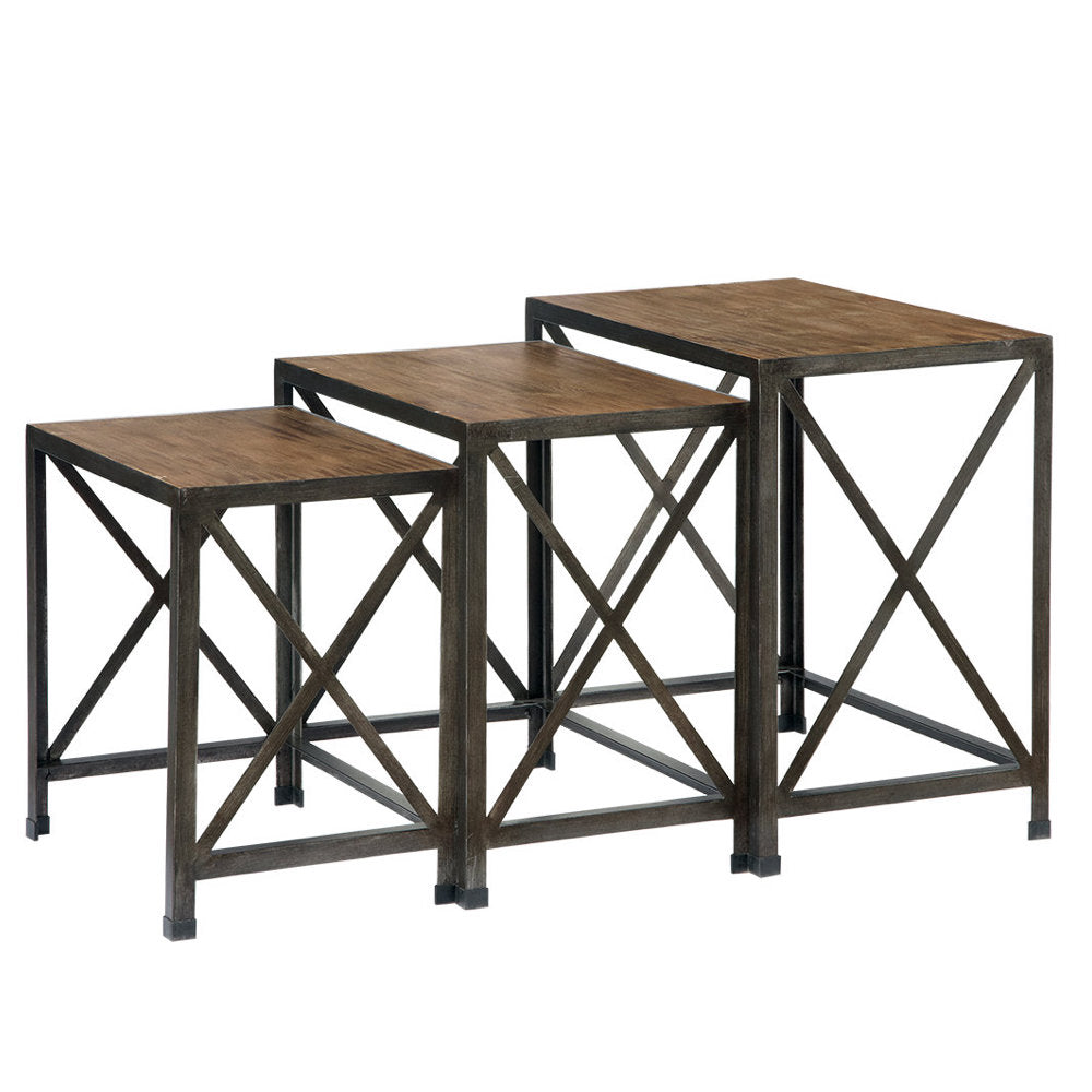 Vennilux 3-Piece Nesting Table Set by Signature Design by Ashley  sc 1 st  Barrow Fine Furniture & Vennilux 3-Piece Nesting Table Set by Signature Design by Ashley ...