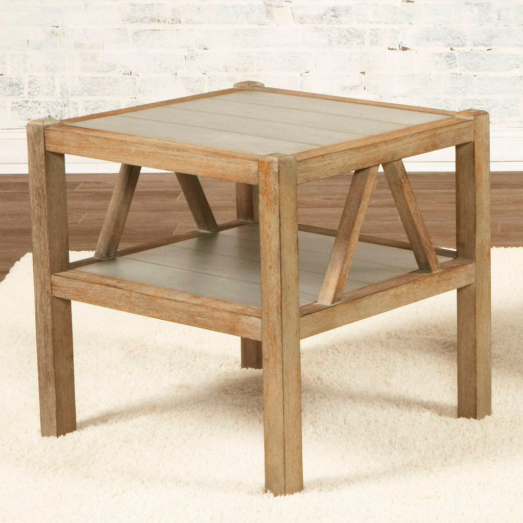 Ketley Rectangular End Table by Largo