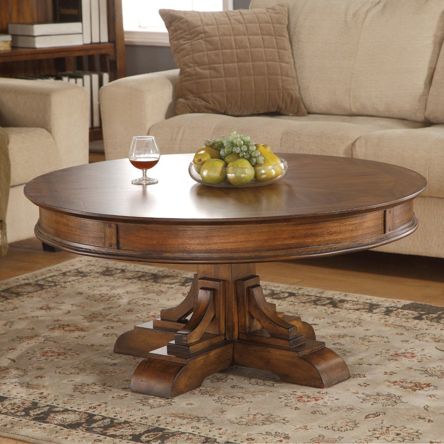 Sonora Round Coffee Table by Flexsteel