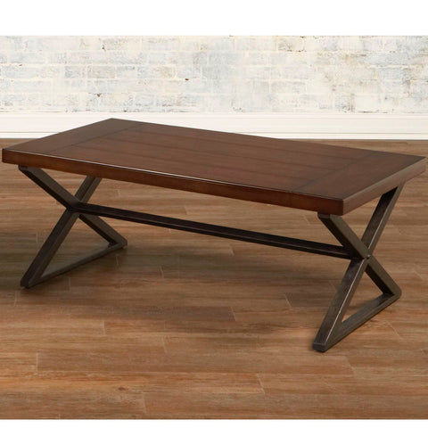 Crossing Rectangular Cocktail Table by Largo