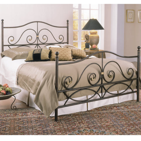 Camden Twin Metal Headboard by Elements