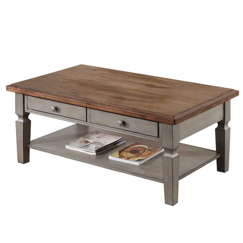 Barnwell 2-Drawer Coffee Table by Winners Only
