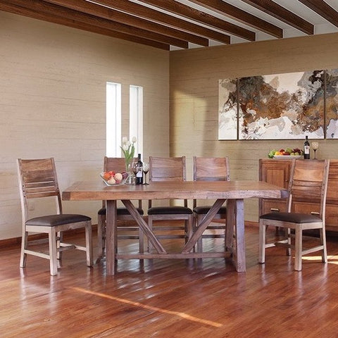 Habillo 7-Piece Table and Chairs by IFD