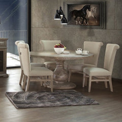 Bonanza Round Dining Table by IFD