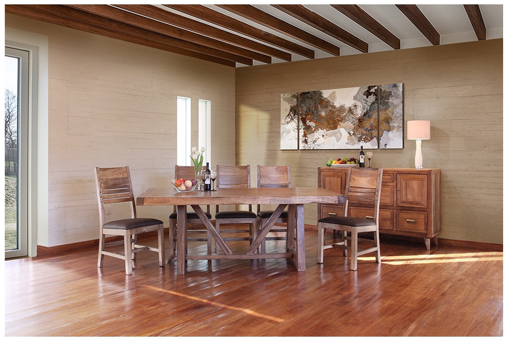 Habillo 7 Piece Table And Chairs By International Furniture Direct Barrow Fine Furniture