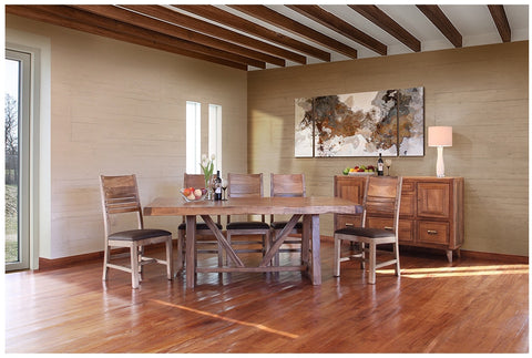 Habillo 7-Piece Table and Chairs by International Furniture Direct