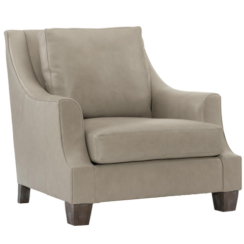 Larson Leather Chair by Bernhardt