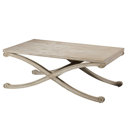 Camryn Rectangular Cocktail Table by Bassett Mirror Company