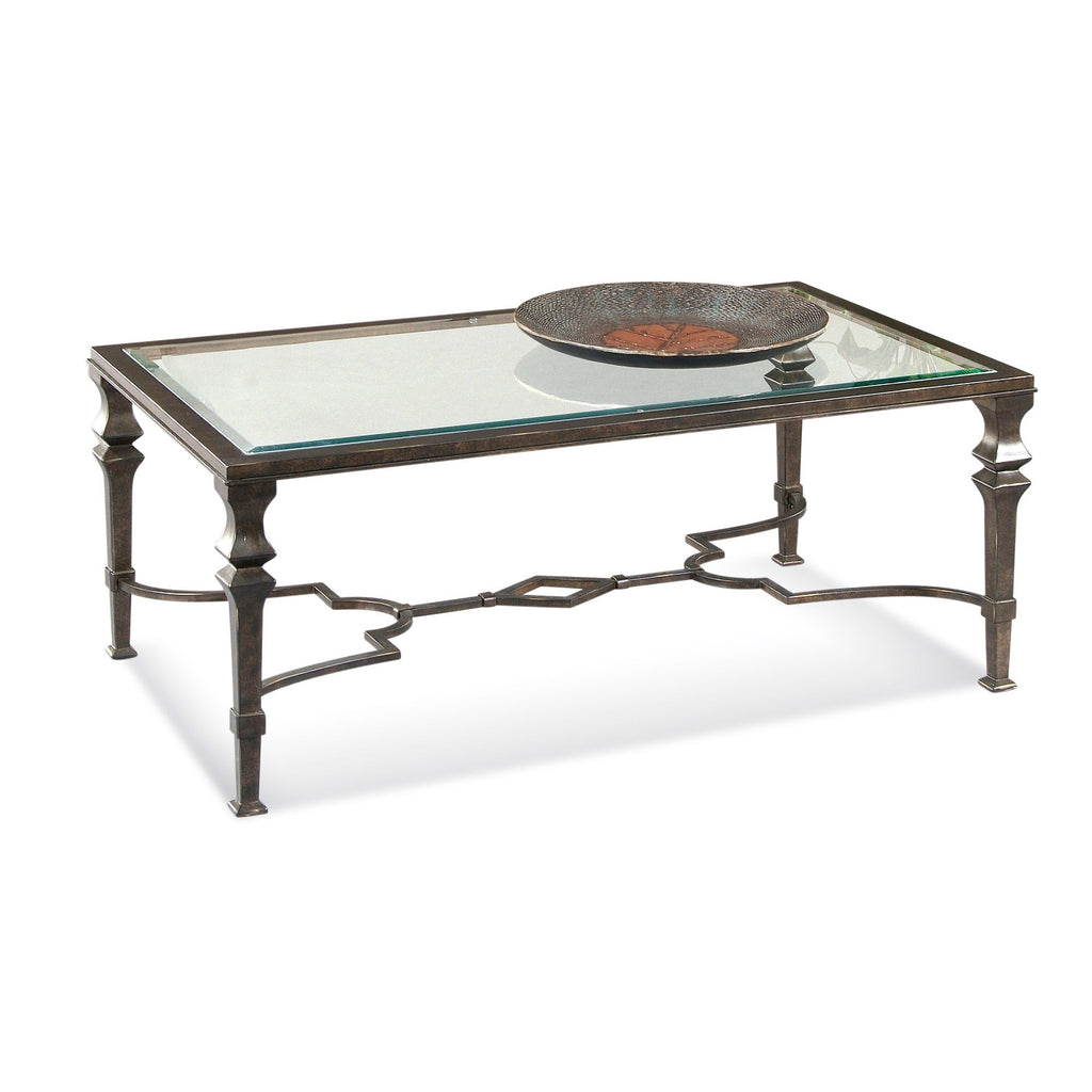 Lido Rectangular Cocktail Table by Bassett Mirror Company