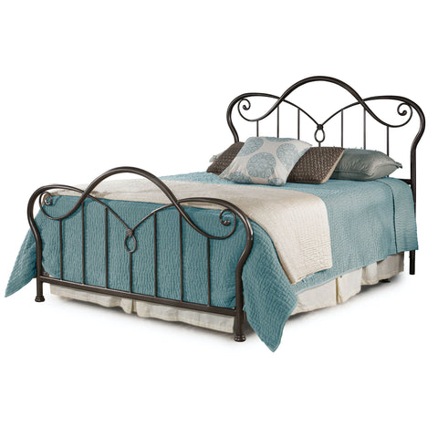 Casselton Queen Metal Bed by Hillsdale