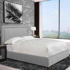 Cody Mineral Upholstered Queen Headboard by Parker House