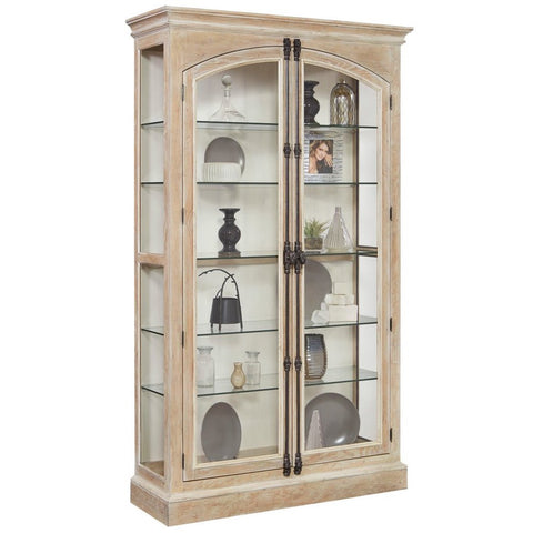 Cremone Closure 5 Shelf Curio Cabinet by Pulaski