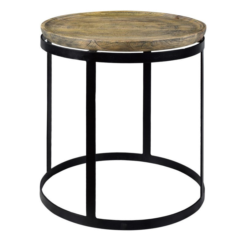 Bengal Manor Round End Table by Crestview Collection