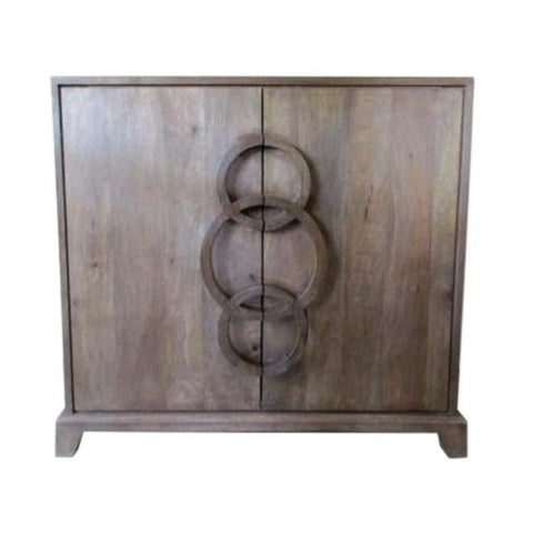 Bengal Manor 3 Ring Cabinet by Crestview Collection